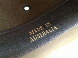 This is where it's at right here. Aussie made and Aussie worn.