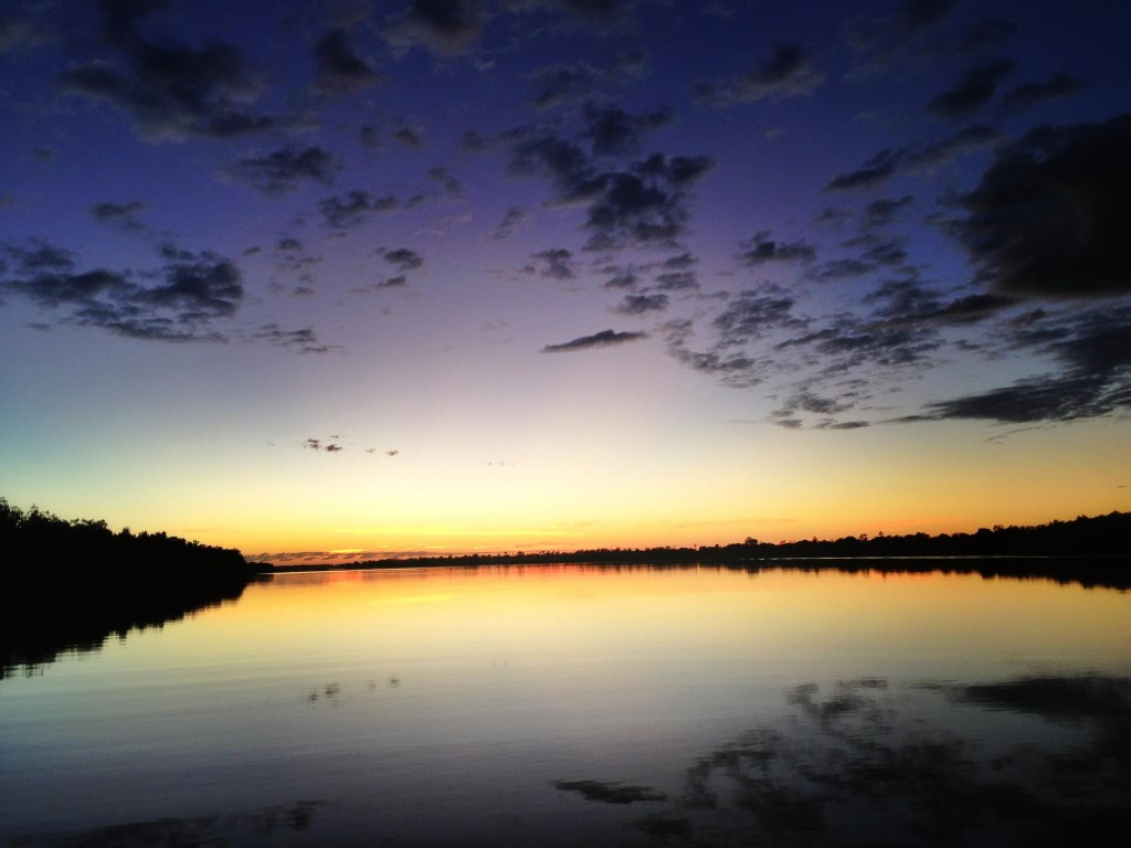 Sunrise over the McArthur River