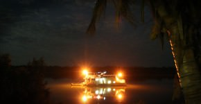 McArthur River At Night