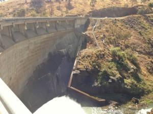Carcoar Dam Wall