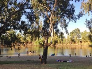 Murrumbidgee River Swiming Wagga Wagga