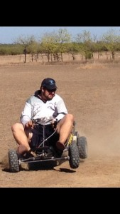 200cc 6hp drifter off road go kart