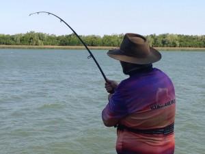 Fishing bank king ash bay