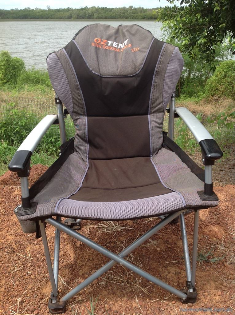 OzTent King Kokoda C&ing Chair Review & OzTent King Kokoda Chair LTD Review u2013 Naive Nomads